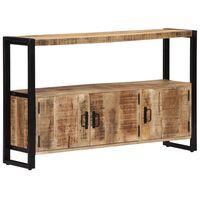 "vidaXL Side Cabinet 47.2""x11.8""x29.5"" Solid Mango Wood"