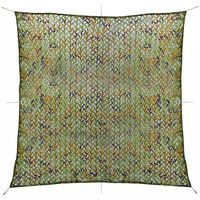 vidaXL Camouflage Net with Storage Bag 9.8'x9.8'