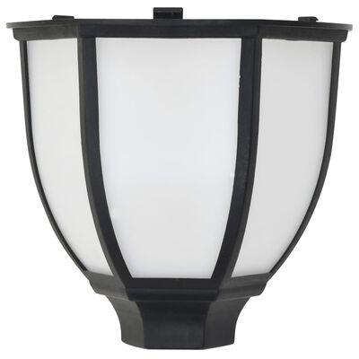 vidaXL Outdoor Solar Lamps 3 pcs LED Black