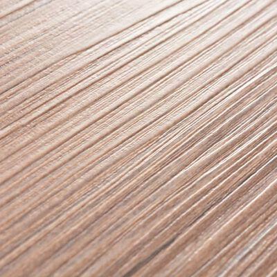 """vidaXL Self-adhesive PVC Flooring Planks 54 ft² 0.08"""" Oak Brown"""