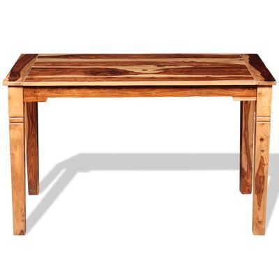 "vidaXL Dining Table Solid Sheesham Wood 47.2""x23.6""x30"""