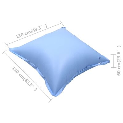 vidaXL Inflatable Winter Air Pillows for Above-Ground Pool Cover 2 pcs
