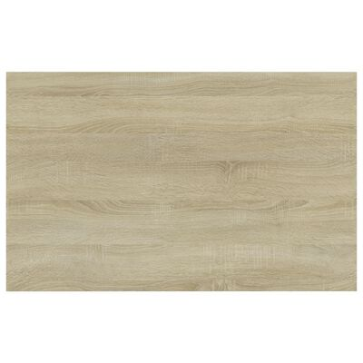"""vidaXL Bookshelf Boards 4 pcs Sonoma Oak 31.5""""x19.7""""x0.6"""" Chipboard"""