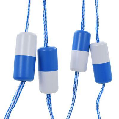 "vidaXL Swimming Pool Safety Divider Rope 236.2"" Plastic"