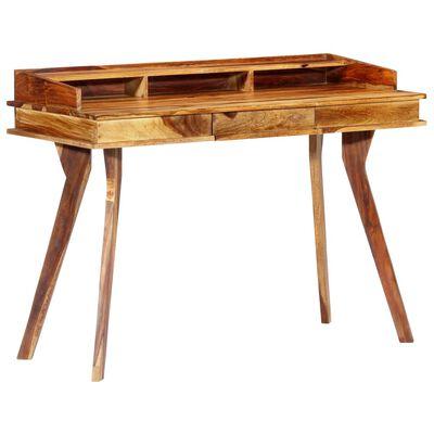 "vidaXL Writing Desk 45.3""x19.7""x33.5"" Solid Sheesham Wood"