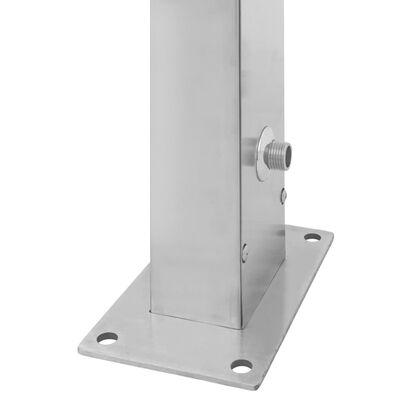 vidaXL Outdoor Shower Stainless Steel Straight