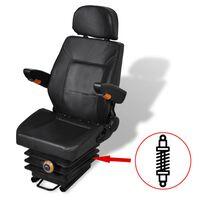 vidaXL Tractor Seat with Suspension