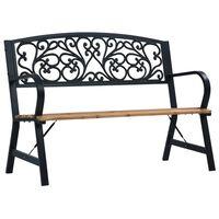 "vidaXL Garden Bench 47.2"" Wood"