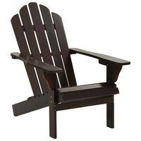 vidaXL Garden Chair Wood Brown