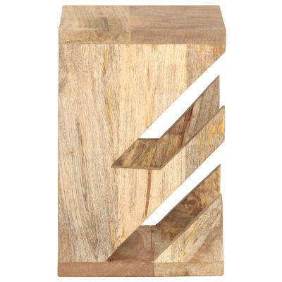 """vidaXL Wall Mounted Skateboard Holder 9.8""""x7.9""""x11.8"""" Solid Mango Wood"""