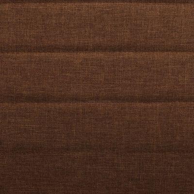 vidaXL Dining Chairs 4 pcs Brown Fabric