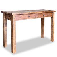 "vidaXL Console Table Solid Reclaimed Wood 48.4""x16.5""x29.5"""