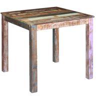 "vidaXL Dining Table Solid Reclaimed Wood 31.5""x32.3""x30"""