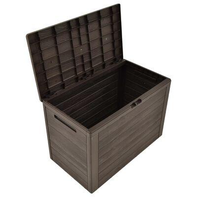 "vidaXL Garden Storage Box Brown 30.7""x17.3""x21.7"""