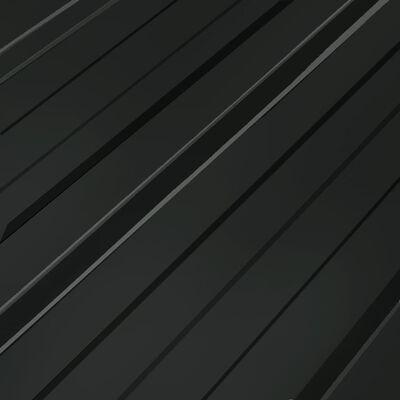 vidaXL Roof Panels 12 pcs Galvanised Steel Anthracite
