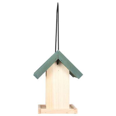 vidaXL Bird Feeders 4 pcs Firwood
