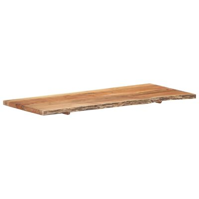 """vidaXL Bathroom Vanity Top Solid Acacia Wood 55.1""""x21.7""""x1.5"""""""
