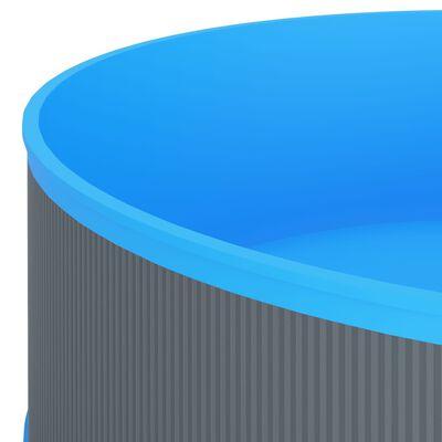 """vidaXL Splasher Pool 137.8""""x35.4"""" Gray"""