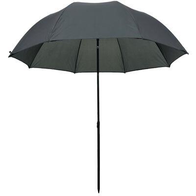 """vidaXL Fishing Umbrella Green 94""""x83"""""""