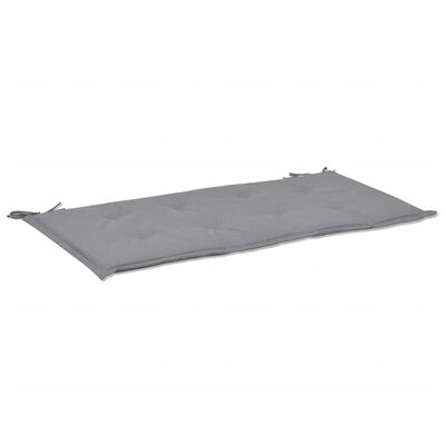 "vidaXL Garden Bench Cushion Grey 39.4""x19.7""x1.6"""