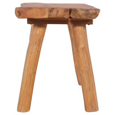 """vidaXL Garden Bench 31.5"""" cm Solid Teak Wood"""
