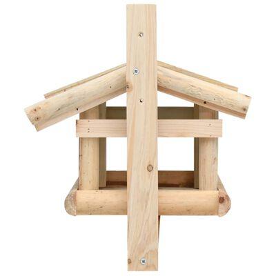"""vidaXL Bird Feeder Solid Wood 13.8""""x11.6""""x8.3"""""""