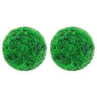 """vidaXL Artificial Boxwood Balls 2 pcs 8.7"""""""