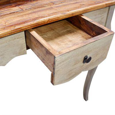 "vidaXL Writing Desk Solid Reclaimed Wood 31.5""x15.7""x36.2"""