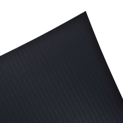 vidaXL Garden Privacy Screen PVC 229.7'x0.6' Dark Gray