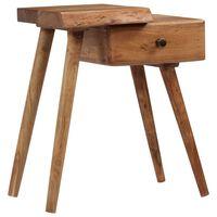 """vidaXL Bedside Table Solid Acacia Wood 17.7""""x12.6""""x21.6"""""""