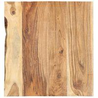 """vidaXL Bathroom Vanity Top Solid Acacia Wood 23.6""""x21.7""""x1"""""""