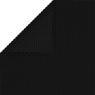 Floating Rectangular PE Solar Pool Film 33 x 16.5 ft Black