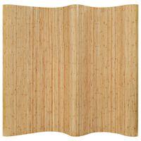 """vidaXL Room Divider Bamboo 98.4""""x65"""" Natural"""