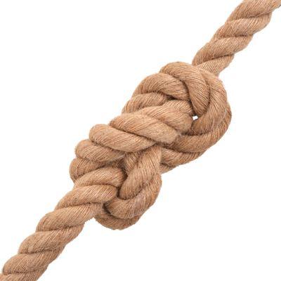 """vidaXL Rope 100% Jute 0.55"""" 3937"""""""