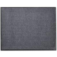 """Gray PVC Door Mat 2' 9"""" x 1' 9"""""""