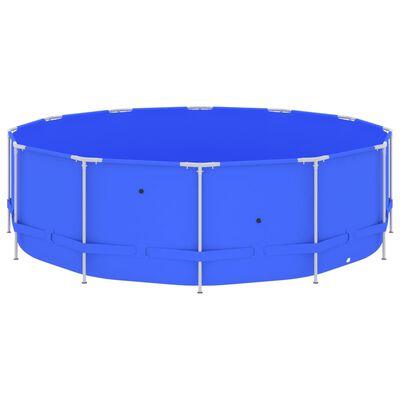 "vidaXL Swimming Pool with Steel Frame 179.9""x48"" Blue"