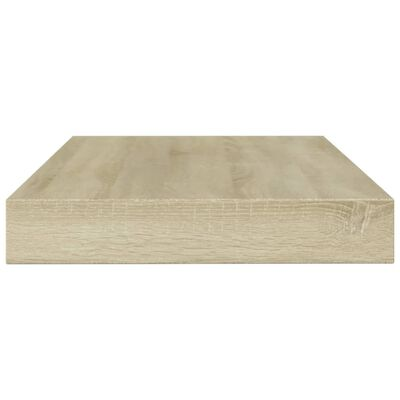 """vidaXL Bookshelf Boards 4 pcs Sonoma Oak 39.4""""x3.9""""x0.6"""" Chipboard"""