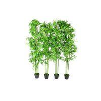 """Set of 4 Bamboo Artificial Home Decor 75"""""""