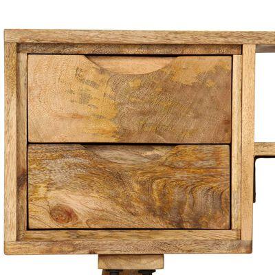 "vidaXL Writing Desk Solid Mango Wood 45.3""x18.5""x30"""