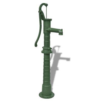 vidaXL Garden Water Pump with Stand Cast Iron