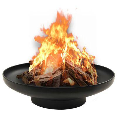 """vidaXL Fire Pit 23.2"""" Steel"""