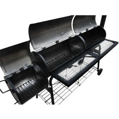 vidaXL Smoker BBQ Nevada XL Black