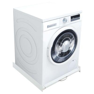 vidaXL Washing Machine Stacking Kit with Pull-Out Shelf