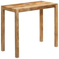 """vidaXL Bar Table Solid Mango Wood 47.2""""x23.6""""x42.5"""""""
