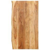"""vidaXL Bathroom Vanity Top Solid Acacia Wood 39.4""""x21.7""""x1"""""""