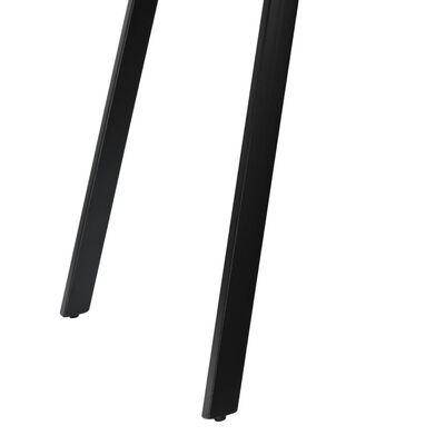 "vidaXL Dining Table Reclaimed Teak and Steel 70.8""x35.4""x29.9"""