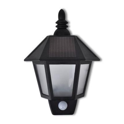 vidaXL Solar Wall Lamp with Motion Sensor