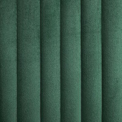 vidaXL Dining Chairs 4 pcs Green Velvet