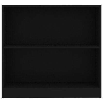 "vidaXL Bookshelf Black 31.5""x9.4""x29.5"" Chipboard"