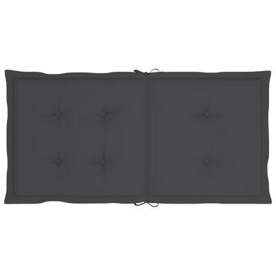 "vidaXL Garden Chair Cushions 6 pcs Anthracite 39.4""x19.7""x1.6"""